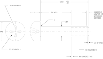 MS27039 CAD Drawing